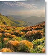 Mountains Landscape Metal Print