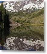 Mountains Maroon Bells 11 Metal Print
