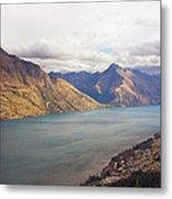 Mountains Meet Lake #5 Metal Print