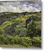 Mountains Of Color Metal Print