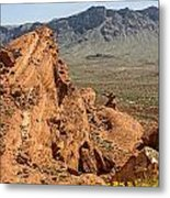Mountains Of Fire Metal Print