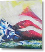 Mountains Of Freedom Two Metal Print