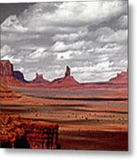 Mountains, West Coast, Monument Valley Metal Print