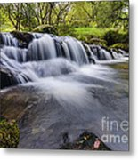 Mountian Water Metal Print