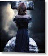 Mourning Metal Print by Joana Kruse
