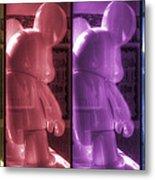Mouse X4 Metal Print