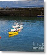 Mousehole Cornwall Metal Print