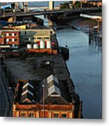 Mouth Of The River Hull Metal Print by Anthony Bean