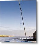 Mouth Of The River Tyne Metal Print