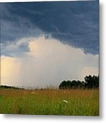 Mouth Of The Storm Metal Print