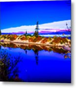Mouth Of The Two Hearted River Metal Print