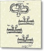 Mouthpiece 1964 Patent Art Metal Print