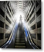 Move Into The Light Metal Print