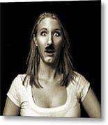 Movember Eighteenth Metal Print
