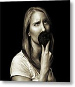 Movember Eighth Metal Print