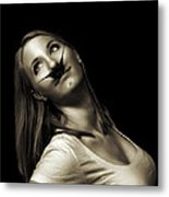 Movember Eleventh Metal Print by Ashley King