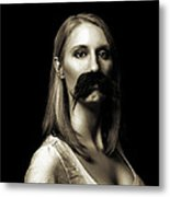 Movember First Metal Print by Ashley King