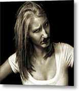 Movember Fourteenth Metal Print by Ashley King