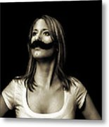 Movember Fourth Metal Print by Ashley King