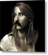 Movember Nineteenth Metal Print