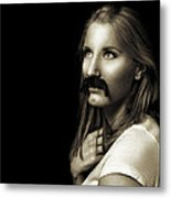 Movember Ninth Metal Print