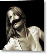 Movember Seventeenth Metal Print by Ashley King