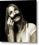 Movember Seventh Metal Print