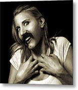 Movember Sixteenth Metal Print by Ashley King