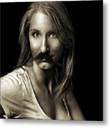 Movember Sixth Metal Print by Ashley King