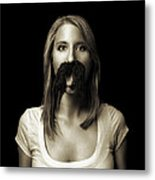 Movember Tenth Metal Print