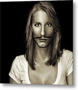 Movember Thirteenth Metal Print