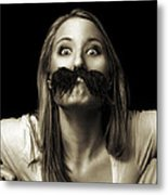 Movember Twelfth Metal Print