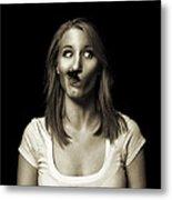 Movember Twentyeighth Metal Print by Ashley King