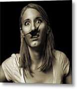 Movember Twentyfifth Metal Print by Ashley King