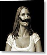 Movember Twentyfirst Metal Print