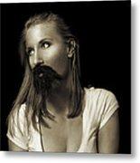 Movember Twentyninth Metal Print by Ashley King