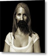 Movember Twentysecond Metal Print