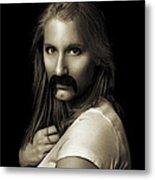 Movember Twentythird Metal Print by Ashley King