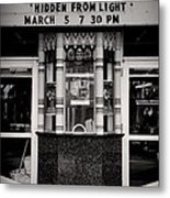 Movie Theater Metal Print by Rudy Umans