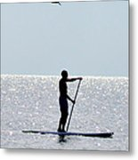 Moving At Rest Metal Print