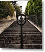 Moving On Moving Up Metal Print