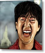 Mr. Chow Hangover Part 2 Metal Print