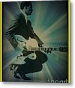 Mr. Chuck Berry Blueberry Hill Style Metal Print