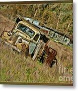 Mr Greenjeans Truck Metal Print