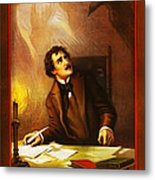 Mr Henry Ludlowe In The Raven Metal Print