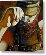 Mr. Leather-personnality Metal Print