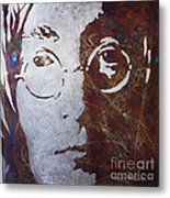 Mr Lennon Metal Print