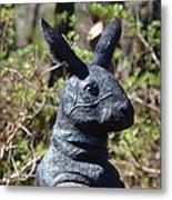 Mr Rabbit 2 Metal Print