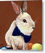 Mr. Rabbit Metal Print