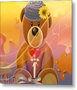 Mr. Teddy Bear Metal Print